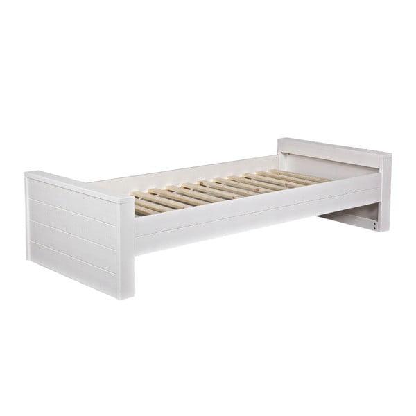 Biela posteľ DeEekhoorn Robin, 90x200cm