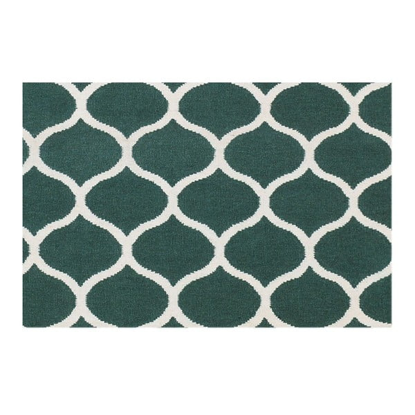 Ručne tkaný koberec Alize Green, 155x240 cm