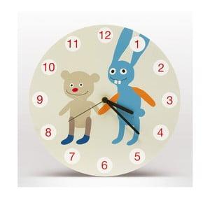 Lavmi nástenné hodiny Sam a Hugo