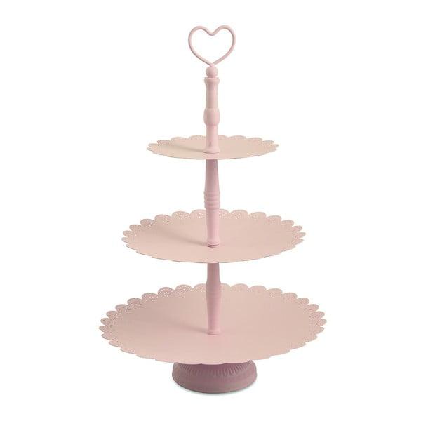 Trojitý stojan na tortičky Piani Rose