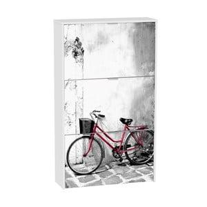 Skrinka na topánky s 3 výklopmi 13Casa Social Bike
