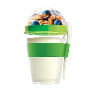 Desiatový téglik Yo2GO, nová edícia, zelený