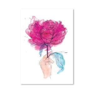 Plagát Rose, 30x42 cm