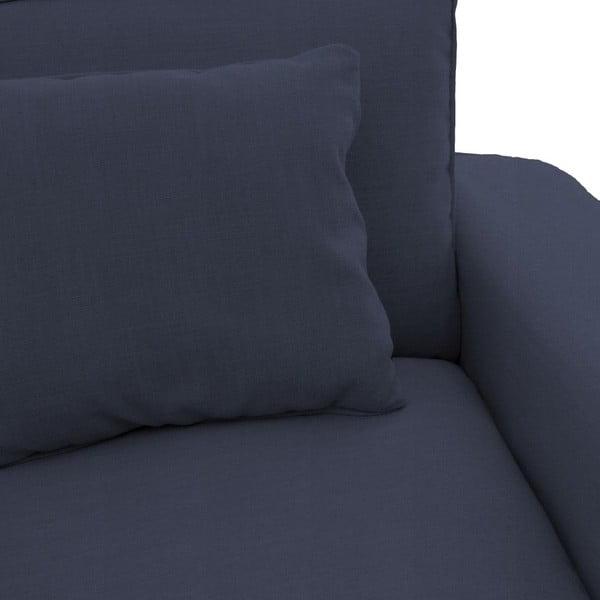 Námornícky modrá pohovka pre troch Vivonita Jane
