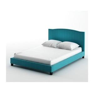 Posteľ Valencia Blue, 140x200 cm