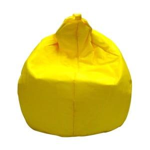 Žltý sedací vak 13Casa Droplet
