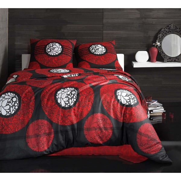 Obliečky s plachtou Effin Dark, 200x220 cm