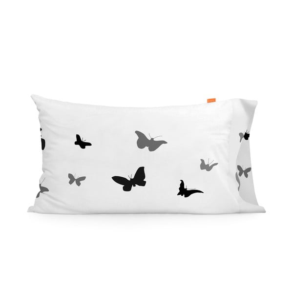 Obliečka na vankúš Blanc Butterflies, 50x80cm