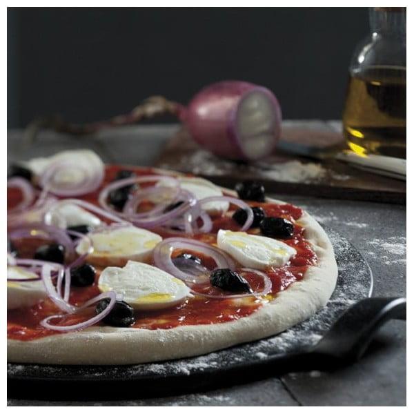 Podnos na pizzu Emile Henry 30 cm, čierny