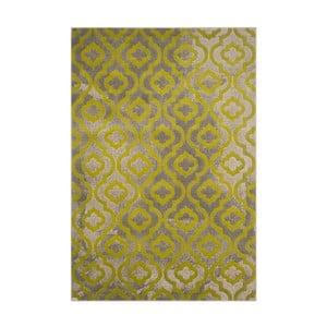 Zelený vysokoodolný koberec Floorita Evergreen, 92 x 152 cm