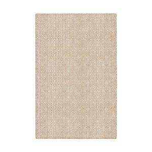 Béžový obojstranný koberec vhodný aj do exteriéru Green Decore Viva, 90 × 150 cm