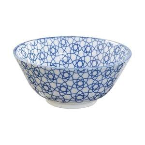 Modrá porcelánová miska Tokyo Design Studio Stripe, ⌀ 15,2 cm