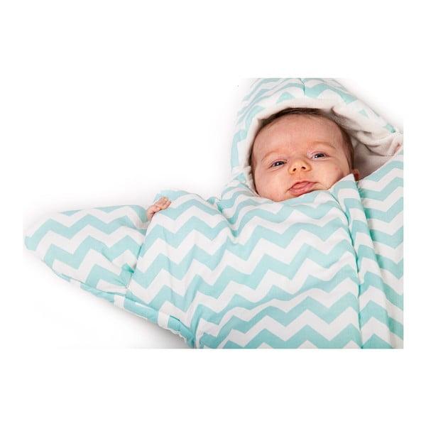 Detský vak na spanie Mint Star, vhodný aj na leto, pre deti do 3 mesiacov