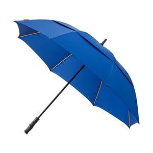 Modrý vetruodolný dáždnik Ambiance, ⌀ 130 cm