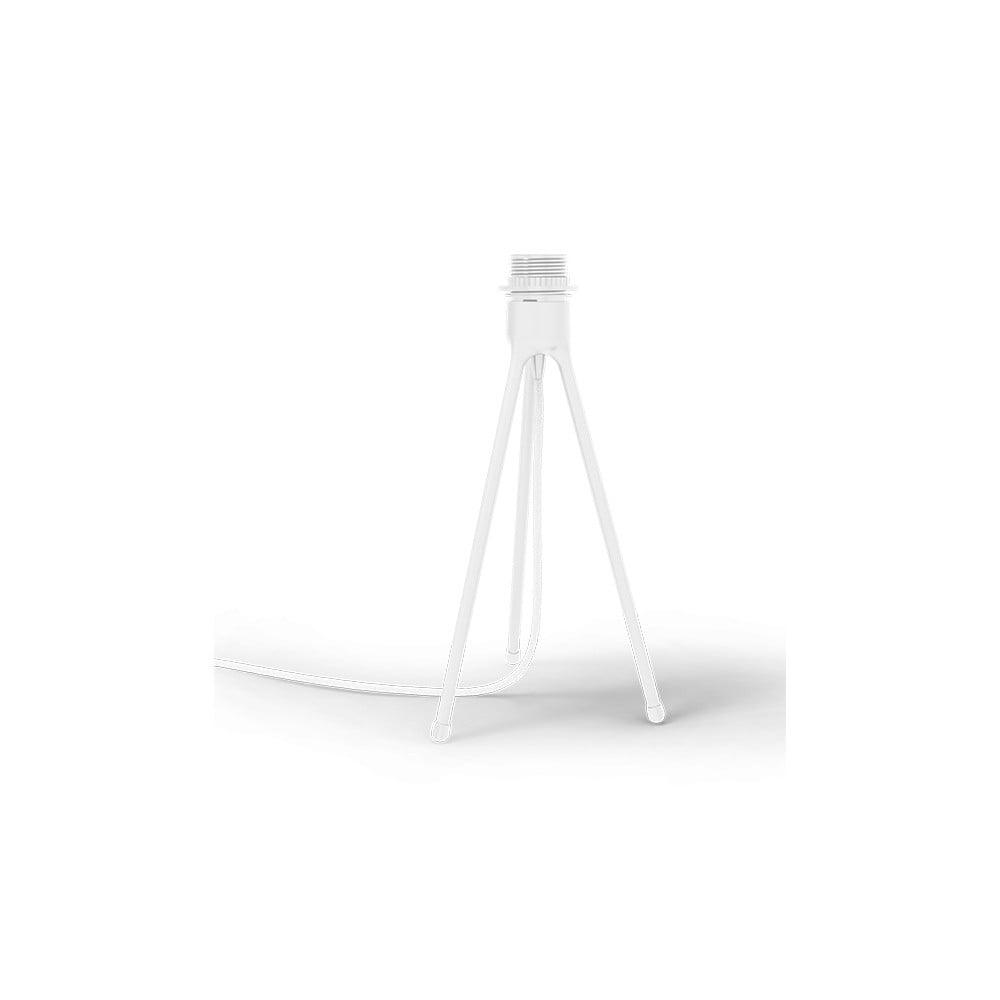 Biely stolový stojan tripod na svietidlá UMAGE, výška 36 cm