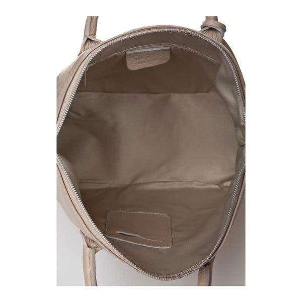 Kožená kabelka Costa Taupe
