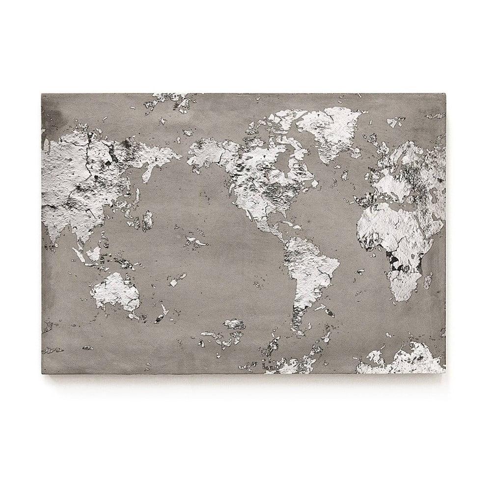 Betónový nástenný obraz Lyon Béton World