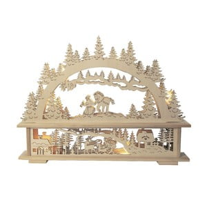 Svietiaca dekorácia Santa in Forest