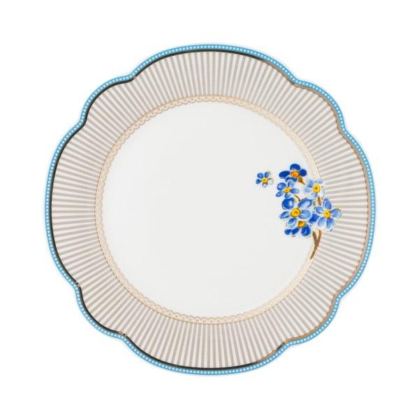 Porcelánový tanier Beach od Lisbeth Dahl, 19 cm, 4 ks