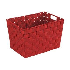Červený košík Wenko Adria, 25,5×35 cm