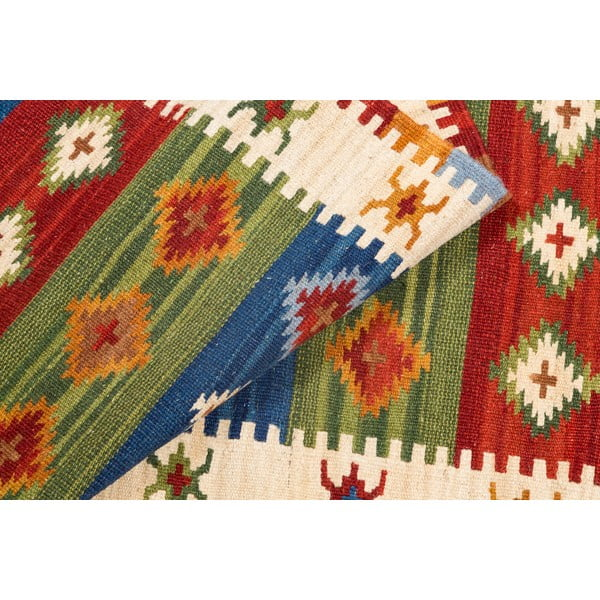 Ručne tkaný koberec Kilim Dalush 608, 250x80 cm