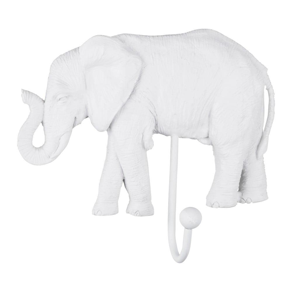 Biely háčik PT LIVING Elephant