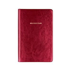 Červený zápisník Tri-Coastal Design
