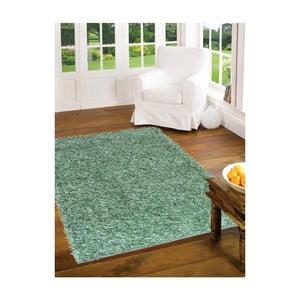 Zelený koberec Webtappeti Shaggy, 60 x 100 cm