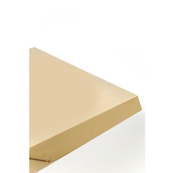 Konzolový stolík v zlatej farbe Kare Design Gold Rush