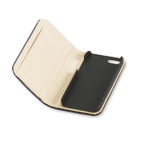 Čierny obal na iPhone 5/5S Moleskine