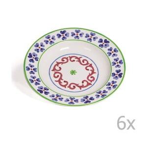 Sada 6 polievkových tanierov Toscana Anghiari, 22.5 cm