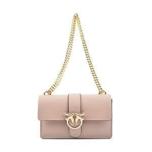 Ružová kožená kabelka Roberta M Gatura