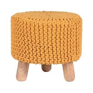 Tmavo-žltá stolička LABEL51 Kota