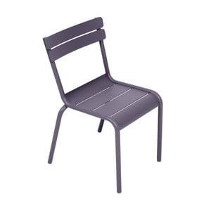 Lila detská stolička Fermob Luxembourg