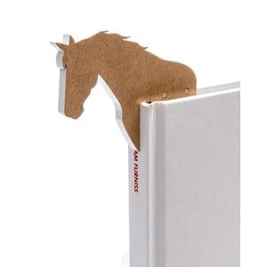Záložka do knižky v tvare koňa Thinking gifts Woodland