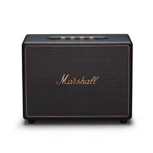 Čierny reproduktor s Bluetooth pripojením Marshall Woburn Multi-room