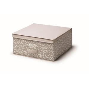 Hnedý úložný box s vekom Cosatto Bocquet, šírka 45 cm