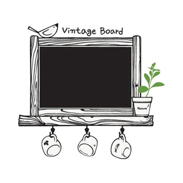 Dekoratívna samolepka Vintage Board, 62x66 cm