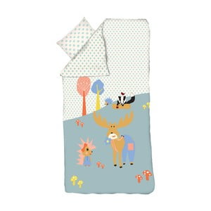 Detské obliečky Flexa Forest, 140 x 200 cm + 80 x 80 cm