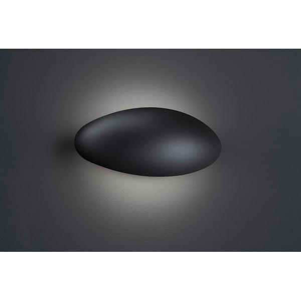 Sivé vonkajšie nástenné svetlo Trio Missouri, výška 11,4 cm