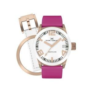 Dámske hodinky Marc Coblen s remienkom a krúžkom na ciferník naviac P22