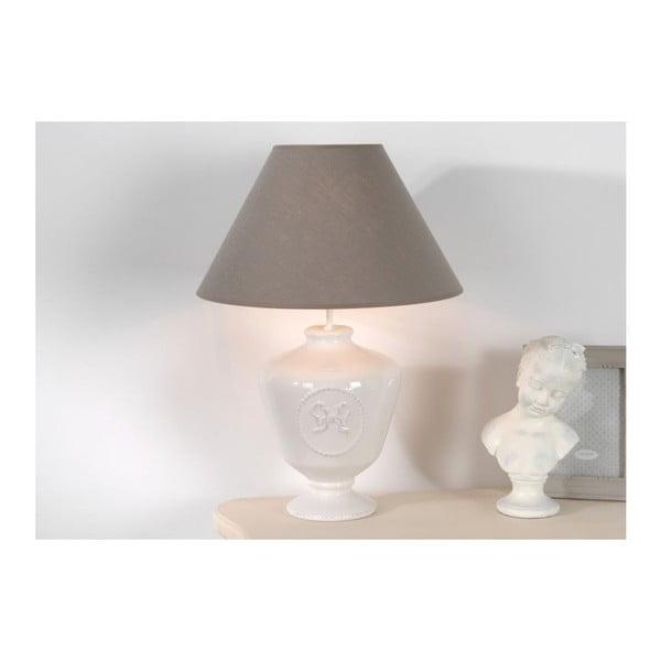 Stolná lampa Emilie White