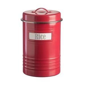Červená dóza na ryžu Typhoon Vintage, 3,1 l