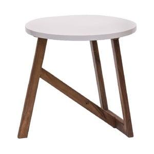 Odkladací stolík Bianco, 50x50 cm
