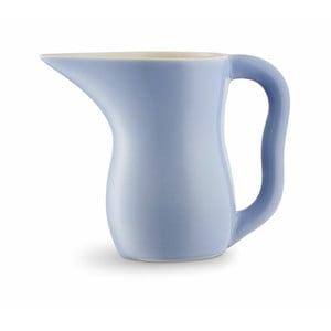 Modrofialová kameninová nádoba na mlieko Kähler Design Ursula, 800 ml