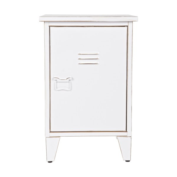 Nočný stolík Max, biely, pravostranné otváranie