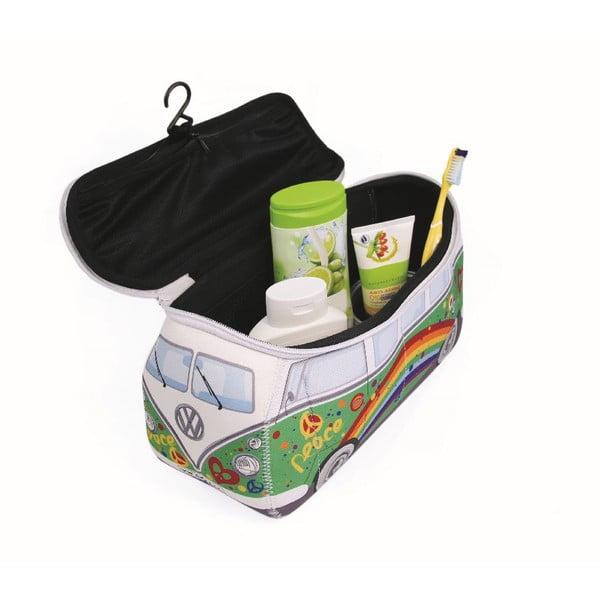 Kozmetická taška VW Bus, zelená