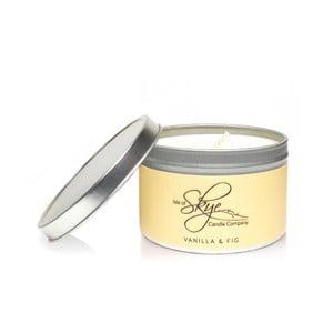 Sviečka s vôňou vanilky a fíg Skye Candles Container, dĺžka horenia 30 hodín
