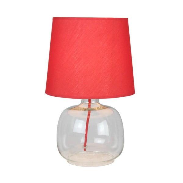 Stolová lampa Mandy, červená