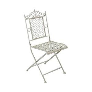 Biela záhradná stolička Algoma